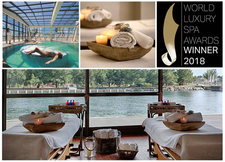 "Τριπλή βράβευση του Porto Carras Thalassotherapy & Spa στα  ""World Luxury Spa Awards 2018""!"
